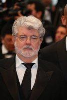 George Lucas - Cannes - 25-05-2012 - Lawrence Kasdan e Simon Kinberg sceneggiatori per Star Wars