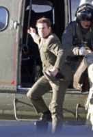 Tom Cruise - Londra - 25-11-2012 - Tom Cruise fa chiudere Trafalgar Square per il suo film