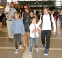 Ha, Cruz Beckham, Romeo Beckham, David Beckham, Victoria Beckham - Los Angeles - 15-10-2012 - Victoria Beckham cerca casa a Londra per il dopo Los Angeles