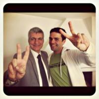 Eddy Testa, Nichi Vendola - 25-11-2012 - Baldwin-Delevingne: la bandiera arcobaleno sempre più in alto