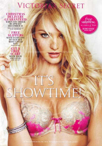 Candice Swanepoel - Los Angeles - 27-11-2012 - Victoria's Secret presenta il catalogo natalizio