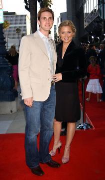 Christopher Gavigan, Jessica Capshaw - Beverly Hills - 09-06-2004 - Jessica Capshaw incinta del terzo figlio
