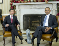 Enrique Pena Nieto, Barack Obama - Washington - 27-11-2012 - Barack Obama accoglie alla Casa Bianca Enrique Pena Nieto