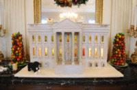 Washington - 28-11-2012 - Michelle Obama inaugura il Natale alla Casa Bianca