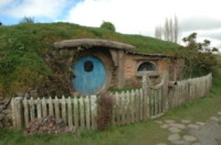 Villaggio - 28-08-2011 - Il villaggio magico di Hobbit a Matamata