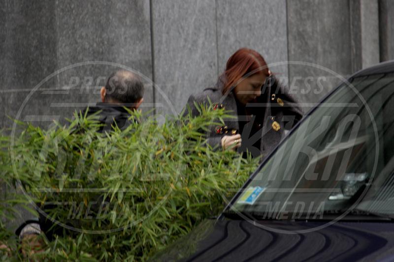 Barbara Berlusconi - Miano - 30-11-2012 - Barbara Berlusconi porta i figli a pranzo da Nobu