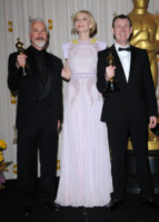 Dave Elsey, Rick Baker, Cate Blanchett - Hollywood - 27-02-2011 - Il mago del make up Rick Baker entra nell a Walk of Fame