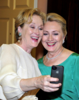 Hillary Clinton, Meryl Streep - Washington - 01-12-2012 - Star come noi: l'impegno politico delle star