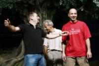 Giacomo Poretti, Giovanni Storti, Aldo Baglio - Milano - 30-06-2008 - Aldo, Giovanni e Giacomo si lasciano?
