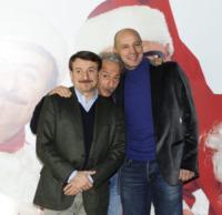 Giacomo Poretti, Giovanni Storti, Aldo Baglio - Roma - 13-12-2010 - Aldo, Giovanni e Giacomo si lasciano?