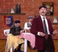 Giacomo Poretti, Giovanni Storti, Aldo Baglio - 05-12-2012 - Daniela Cristofori è il segreto di Giacomo Poretti