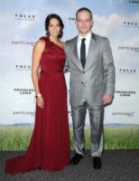 Luciana Barroso, Matt Damon - West Hollywood - 07-12-2012 - Matt Damon: Brad Pitt mi ha dato del bastardo