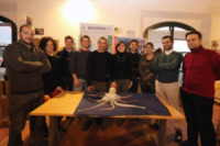 Equipe di biotecnologia marina - Livorno - 11-12-2012 - Ecco Octopus: da Livorno a Londra, esplorerà i fondali marini