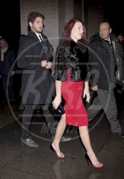 Alexandre Pato, Barbara Berlusconi - Milano - 14-12-2012 - Barbara Berlusconi incinta di Alexandre Pato?