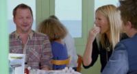 Jimmy Doherty, Gwyneth Paltrow - Londra - 17-12-2012 - Jamie Oliver sfida Gwyneth Paltrow con un marshmallow