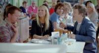Jimmy Doherty, Jamie Oliver, Gwyneth Paltrow - Londra - 17-12-2012 - Jamie Oliver sfida Gwyneth Paltrow con un marshmallow