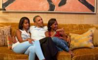 Sasha Obama, Malia Obama, Barack Obama - Charlotte - 04-09-2012 - Time: Barack Obama eletto Person of the year
