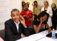 Barack Obama - Orlando - 28-10-2012 - Time: Barack Obama eletto Person of the year