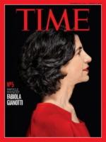 Fabiola Gianotti, Cover Time - Los Angeles - 21-12-2012 - Fabiola Gianotti è la nuova direttrice del Cern