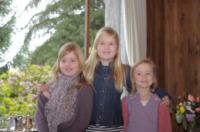 Amalia d'Olanda, Alexia Orange-Nassau, principessa Ariane - Villa la Angostura - 23-12-2012 - Principesse adolescenti sui troni d'Europa: le riconoscete?