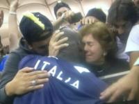 Silvia Balotelli, Mario Balotelli - Varsavia - 15-10-2012 - Balotelli contro Fico per vedere la piccola Pia