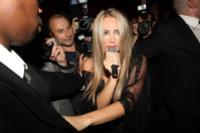 Patrizia D'Addario - Parigi - 01-08-2009 - Silvio Berlusconi assolto in Cassazione per il caso Ruby