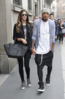 """Kevin-Prince Boateng, Melissa Satta - Milano - 13-10-2012 - Melissa Satta: """"Aspettiamo un bambino, siamo felici"""""""