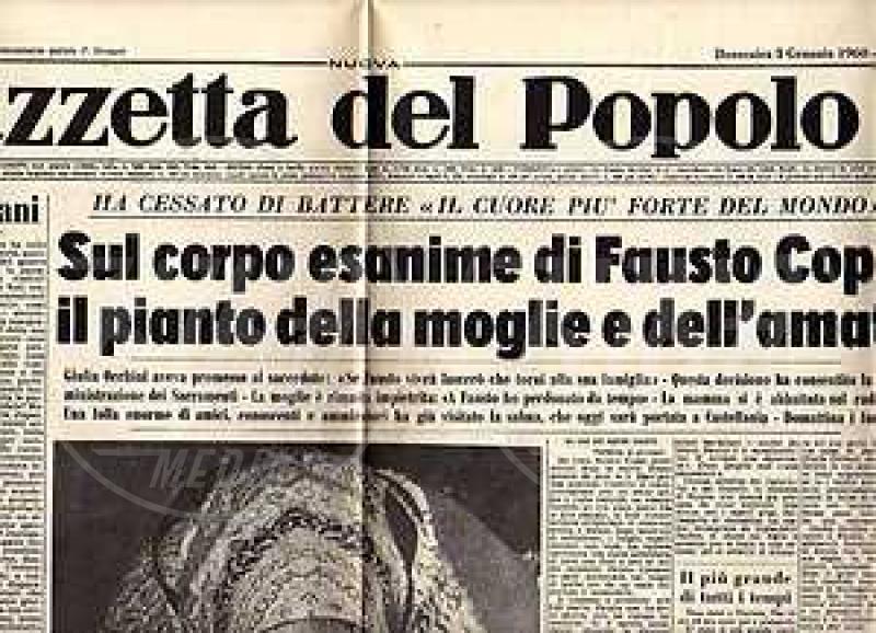 Gazzetta del popolo - 53 anni fa moriva Fausto Coppi, il Campionissimo