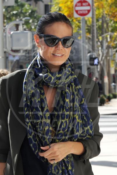 Heidi Klum - Beverly Hills - 03-01-2013 - Eva Mendes e il maculato: un abbinamento perfetto
