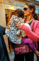 Suri Cruise, Katie Holmes - New York - 03-11-2012 - Moda animalier: questa estate è uno zoo