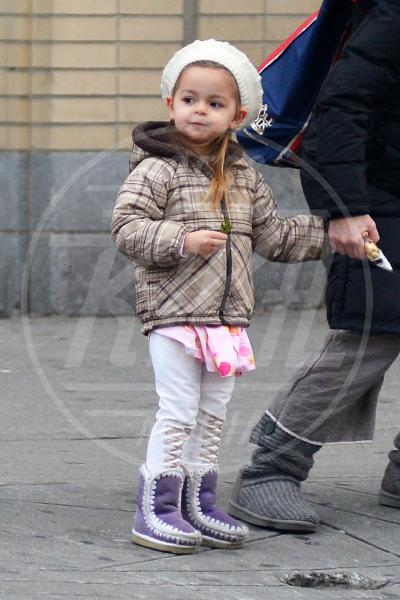 Tabitha Broderick - New York - 03-01-2013 - A Hollywood, piccole fashioniste crescono