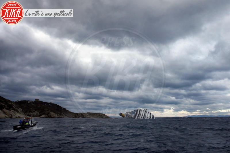 Isola del Giglio, Costa Concordia - Isola del Giglio - 31-01-2012 - Costa Concordia, cinque anni fa la tragedia all'Isola del Giglio