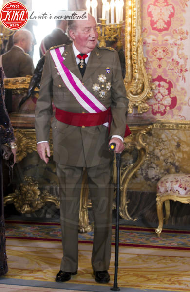 Juan Carlos  di Spagna, Reali di Spagna - Madrid - 06-01-2013 - Star come noi: anche le celebrità si feriscono