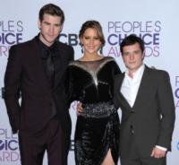 Liam Hemsworth, Jennifer Lawrence, Josh Hutcherson - 09-01-2013 - Hunger Games, Julianne Moore sarà il Presidente Alma Coin