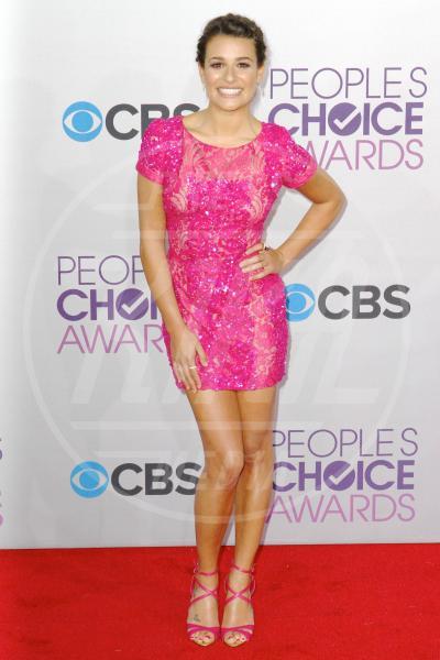 Lea Michele - Los Angeles - 09-01-2013 - Quest'anno la primavera è tutta fucsia!