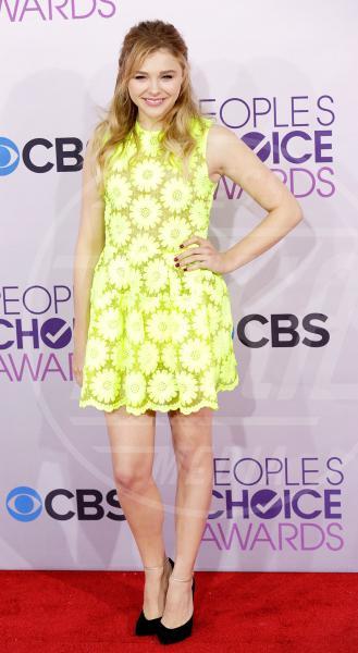 Chloe Grace Moretz - Los Angeles - 08-01-2013 - Il ritorno dell'abito dalla linea a trapezio