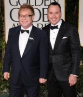 David Furnish, Elton John - Los Angeles - 15-01-2012 - Sir Elton John ricoverato per un'appendicite