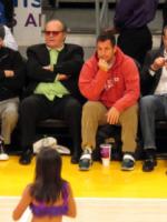 Jack Nicholson, Adam Sandler - Los Angeles - 11-01-2013 - Quando le celebrity diventano il pubblico