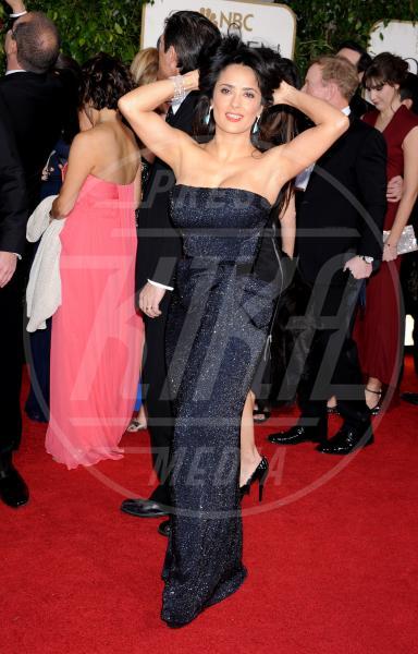 """Salma Hayek - Beverly Hills - 13-01-2013 - """"A 40 anni non sei più sexy!"""" Sicura, Miley Cyrus?"""