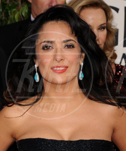 Salma Hayek - Beverly Hills - 13-01-2013 - Le sopracciglia folte sono il nuovo trend
