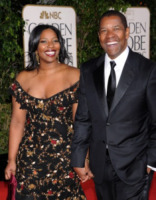 Pauletta Washington, Denzel Washington - Beverly Hills - 13-01-2013 - Denzel Washington in un thriller post-apocalittico