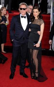 Daniel Craig, Rachel Weisz - Beverly Hills - 13-01-2013 - Colpo di scena 007, Danny Boyle lascia la regia del nuovo film