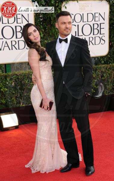 Megan Fox, Brian Austin Green - Beverly Hills - 13-01-2013 - Dani Alves sposo in segreto, ma quante star come lui!
