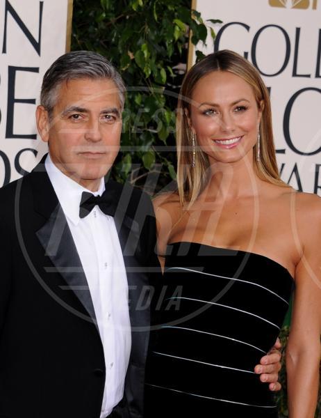 Stacy Keibler, George Clooney - Beverly Hills - 13-01-2013 - 2013: l'annus horribilis delle coppie più belle
