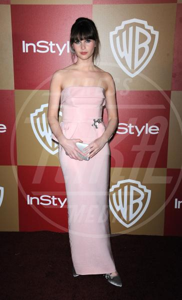 Felicity Jones - Los Angeles - 14-01-2013 - Je vois la vie en rose… anche sul red carpet!