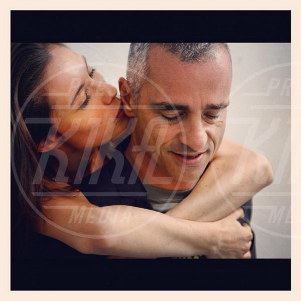 Marica Pellegrinelli, Eros Ramazzotti - Milano - 30-10-2012 - Eros Ramazzotti condivide con i fan le foto delle nozze