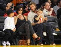 figli, David Beckham, Victoria Beckham - Los Angeles - 31-10-2009 - I Beckham traslocano a casa di Gianni Versace
