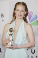 Jessica Chastain - Los Angeles - 13-01-2013 - Il cast di Les Miserables festeggia all'after-party dei Golden Globes