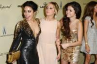 Selena Gomez, Ashley Tisdale, Vanessa Hudgens - Los Angeles - 13-01-2013 - Selena Gomez e Josh Hutcherson: è nato un flirt ai Golden Globes?