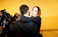 Fabrizio Corona, Nina Moric - Milano - 17-10-2012 - Fabrizio Corona si è costituito a Lisbona